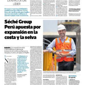 Séché Group Perú apuesta por expansión en la costa y selva | El Comercio